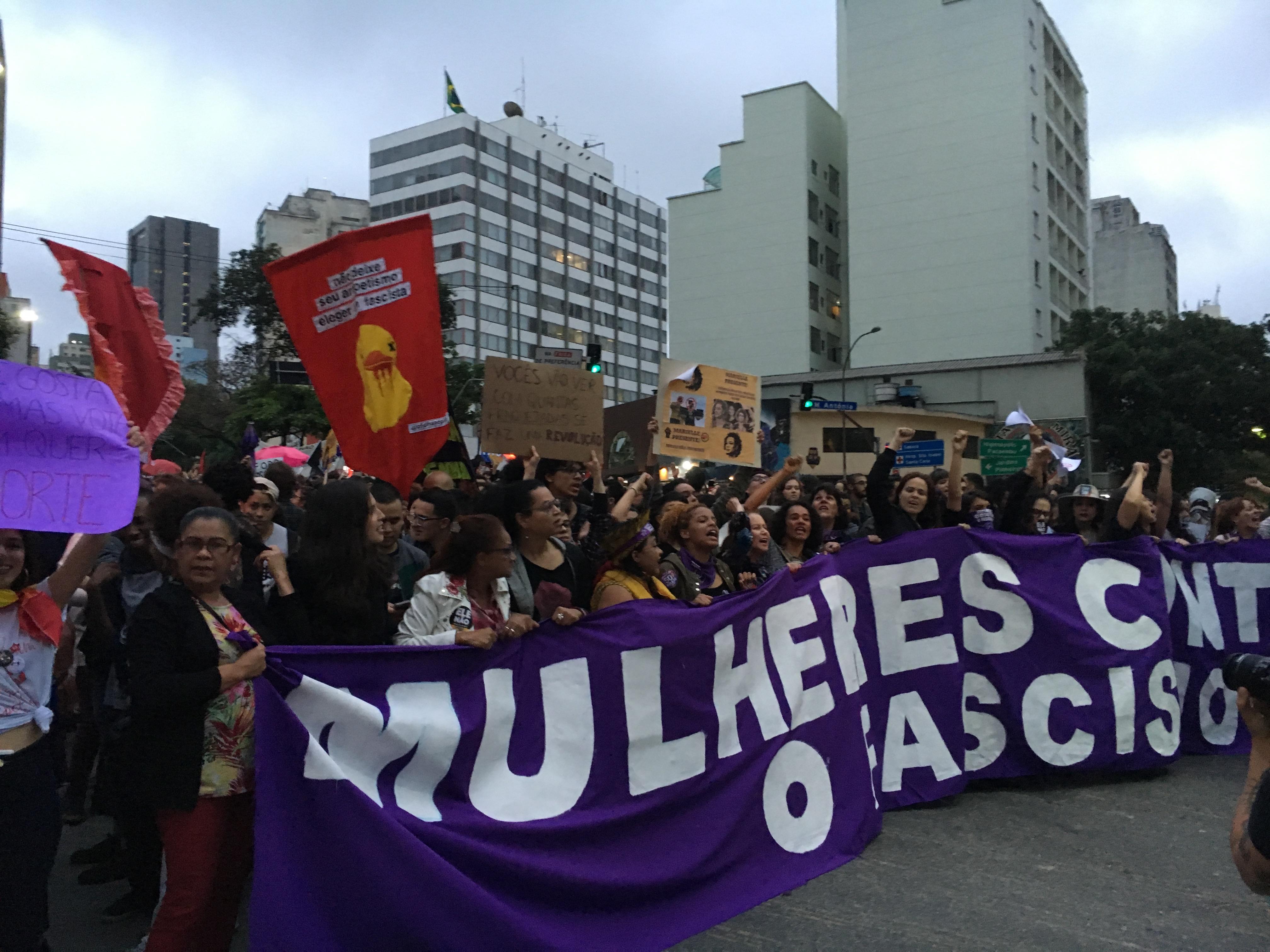 Gegen den Faschismus – Die Stimmung vor der Wahl in São Paulo